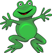Frog Clipart Size: 74 Kb - Clip Art Frogs