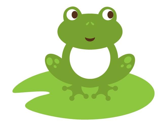 Frog On Lily Pad Clipart-Frog on Lily Pad Clipart-4