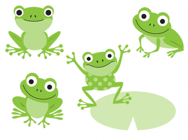 Frogs Clipart 1126742 Illustration By Colematt. on Pinterest | Frogs, .