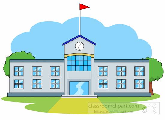 front-of-school-building- .