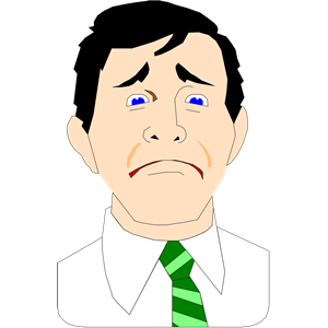 frown clipart-frown clipart-4