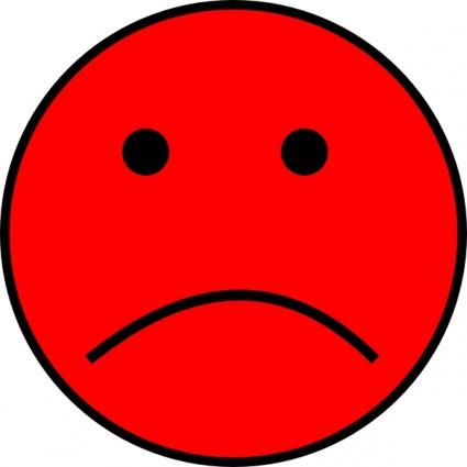 Frowny Face Clip Art .-Frowny Face clip art .-12