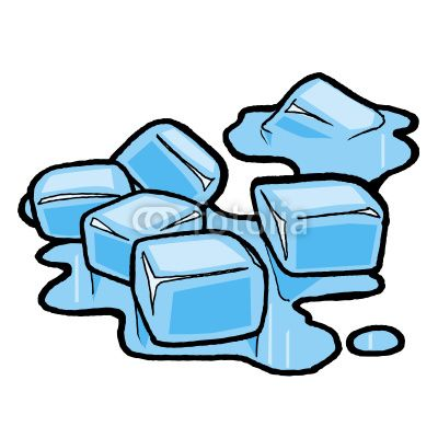 Frozen Ice Cube Clip Art Ice  - Clipart Ice
