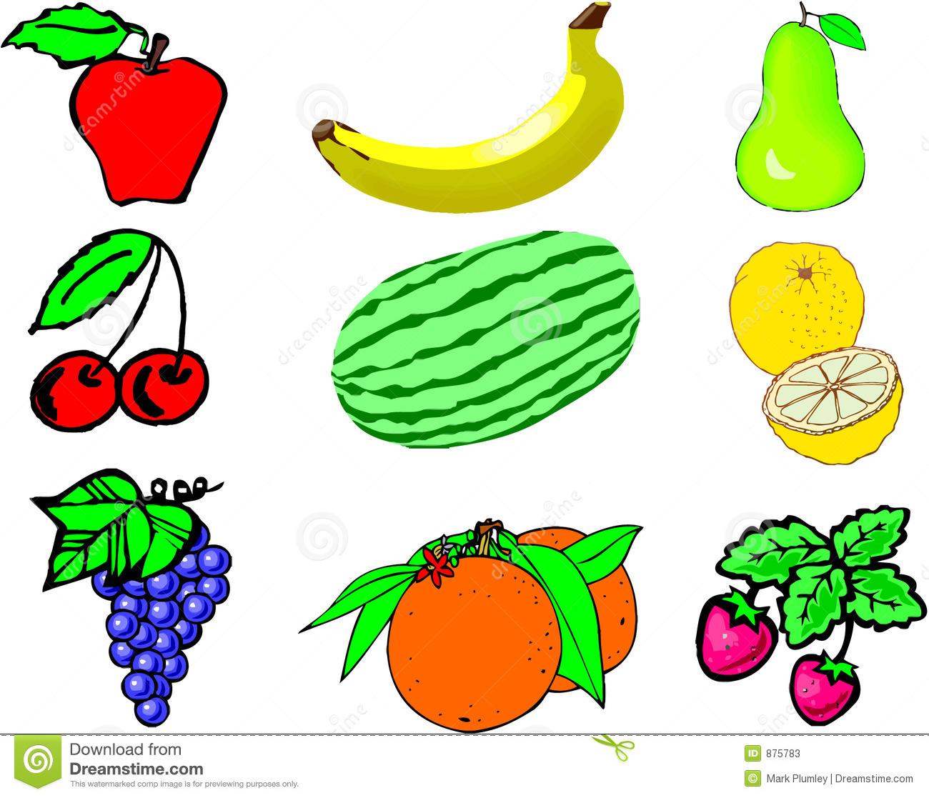 fruit border clipart