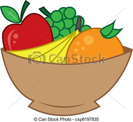 Fruit Bowl Clipart-fruit bowl clipart-10