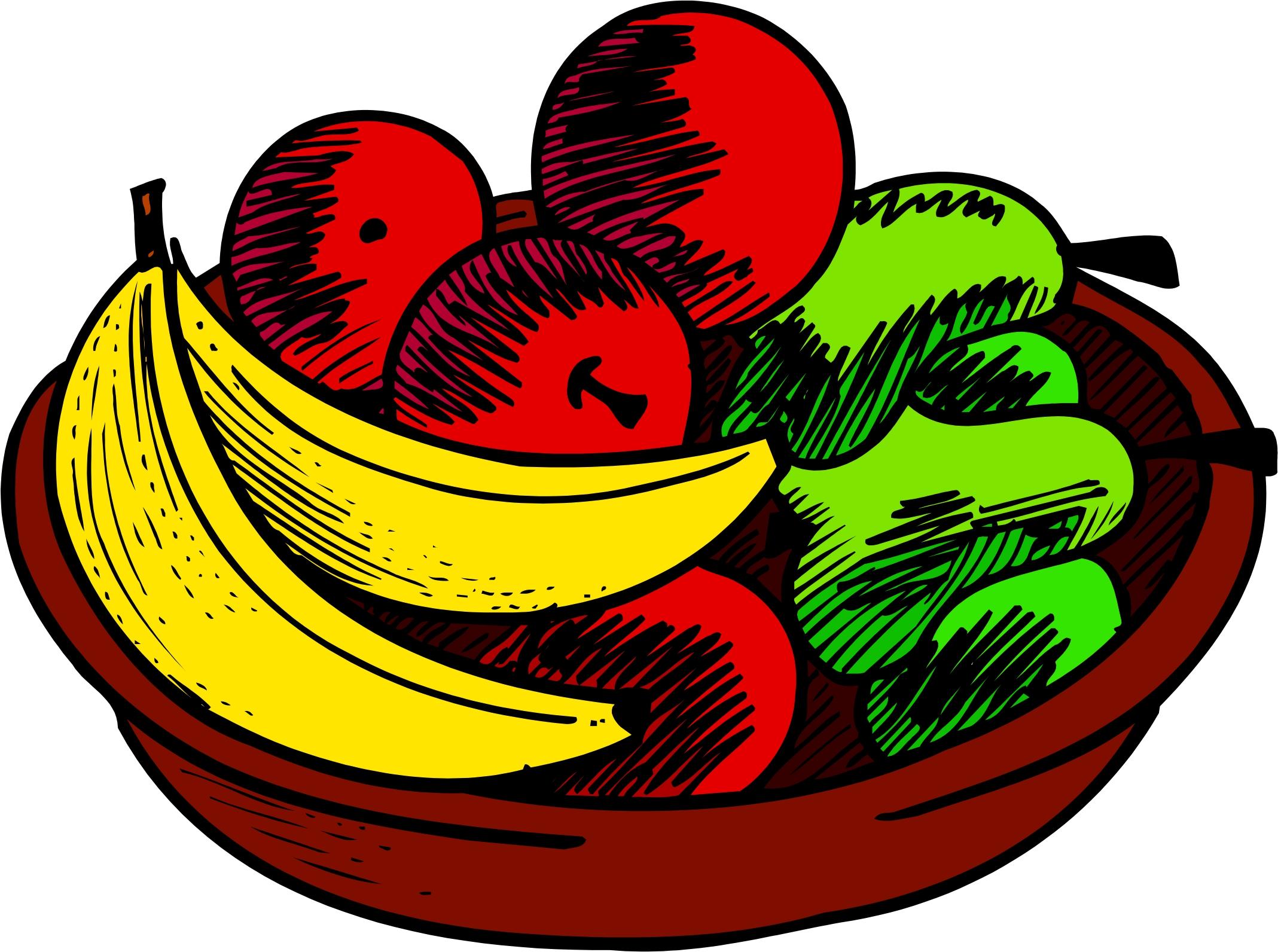 Fruit Bowl Clip Art Images .
