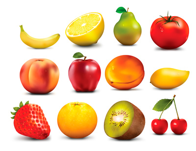 Fruit Clip Art Orange Apple - Fruits Clip Art