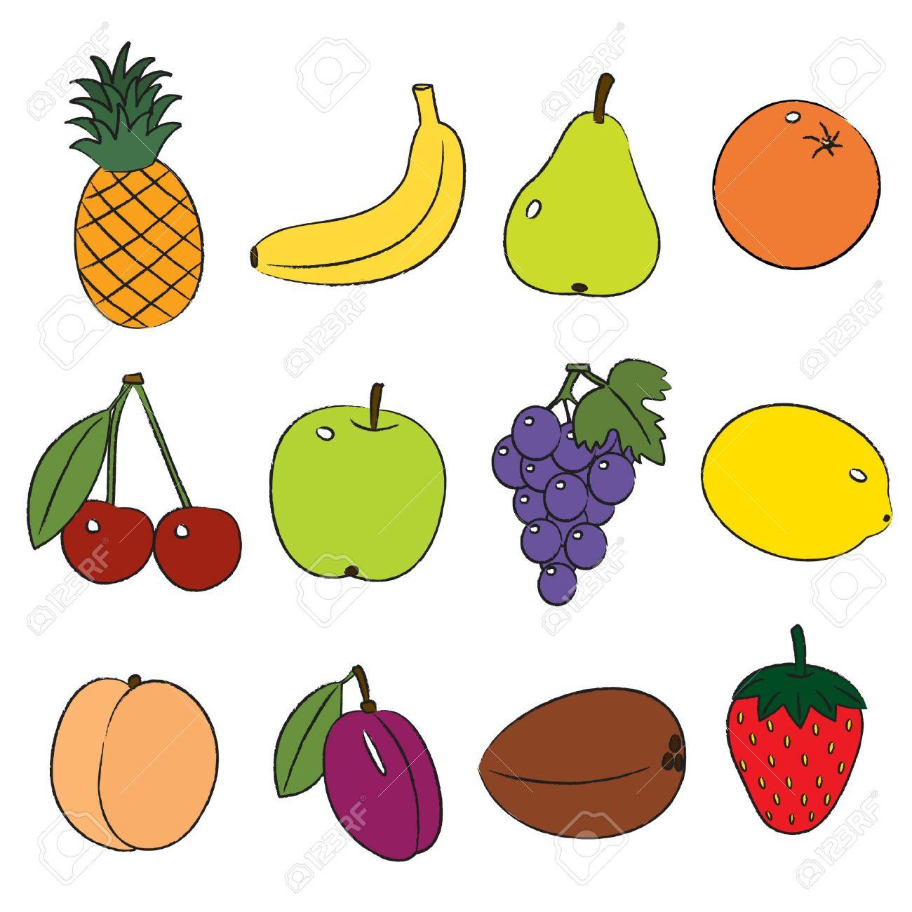 Fruit Clip Art For Kids