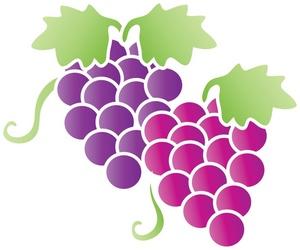 Fruit clipart image grapes image-Fruit clipart image grapes image-18