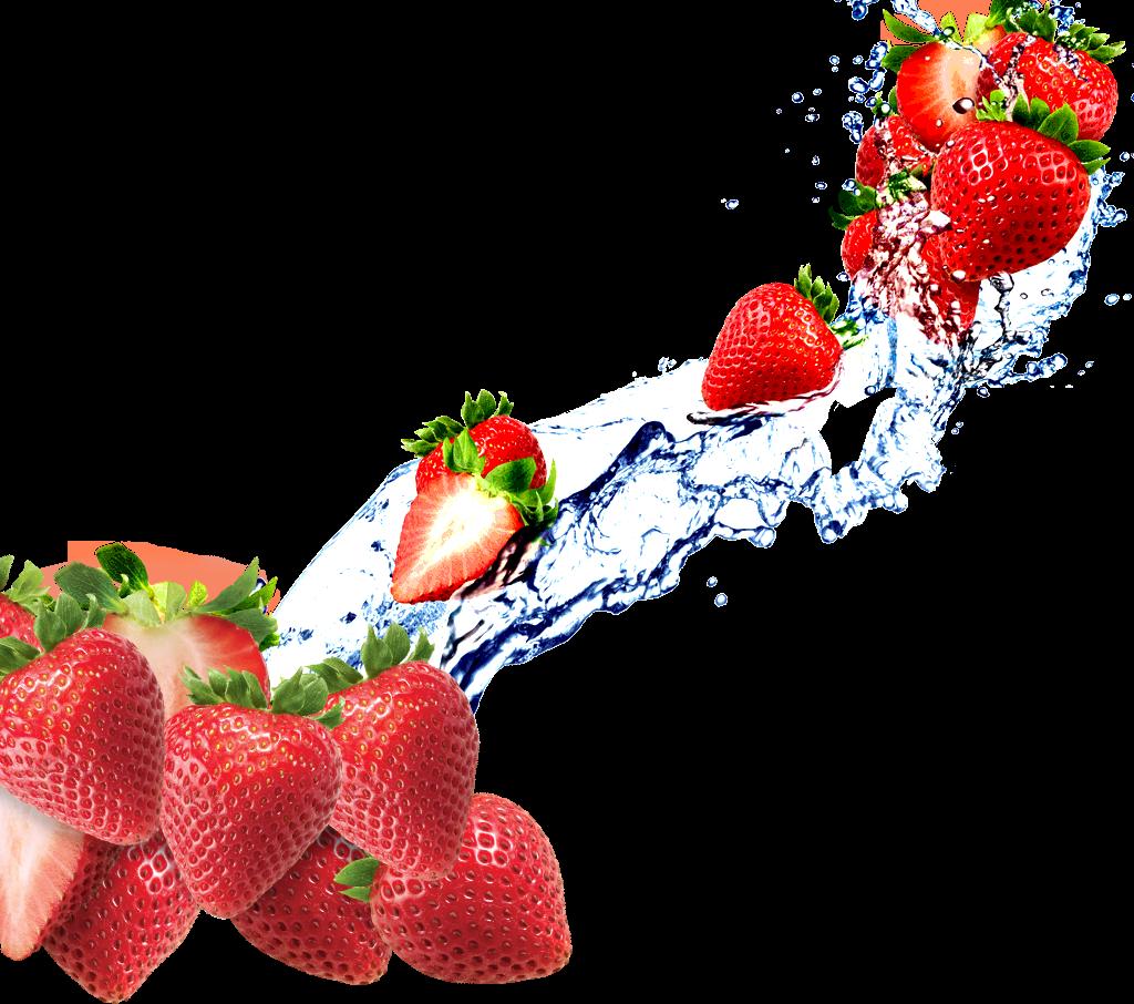 Fruit Water Splash Clipart house