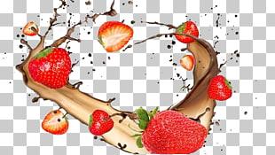 . ClipartLook.com Juice Chocolate milk Fruit Water, Strawberry Milk PNG clipart