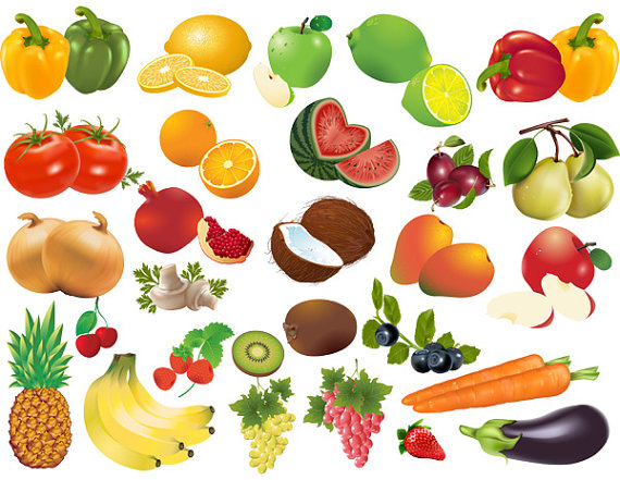 Fruits And Vegetables Clip Art For Pinte-Fruits And Vegetables Clip Art For Pinterest-7