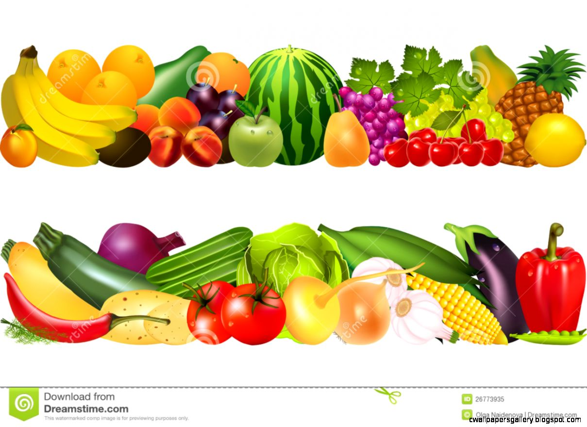 Fruits And Vegetables Clip Art .-fruits and vegetables clip art .-8