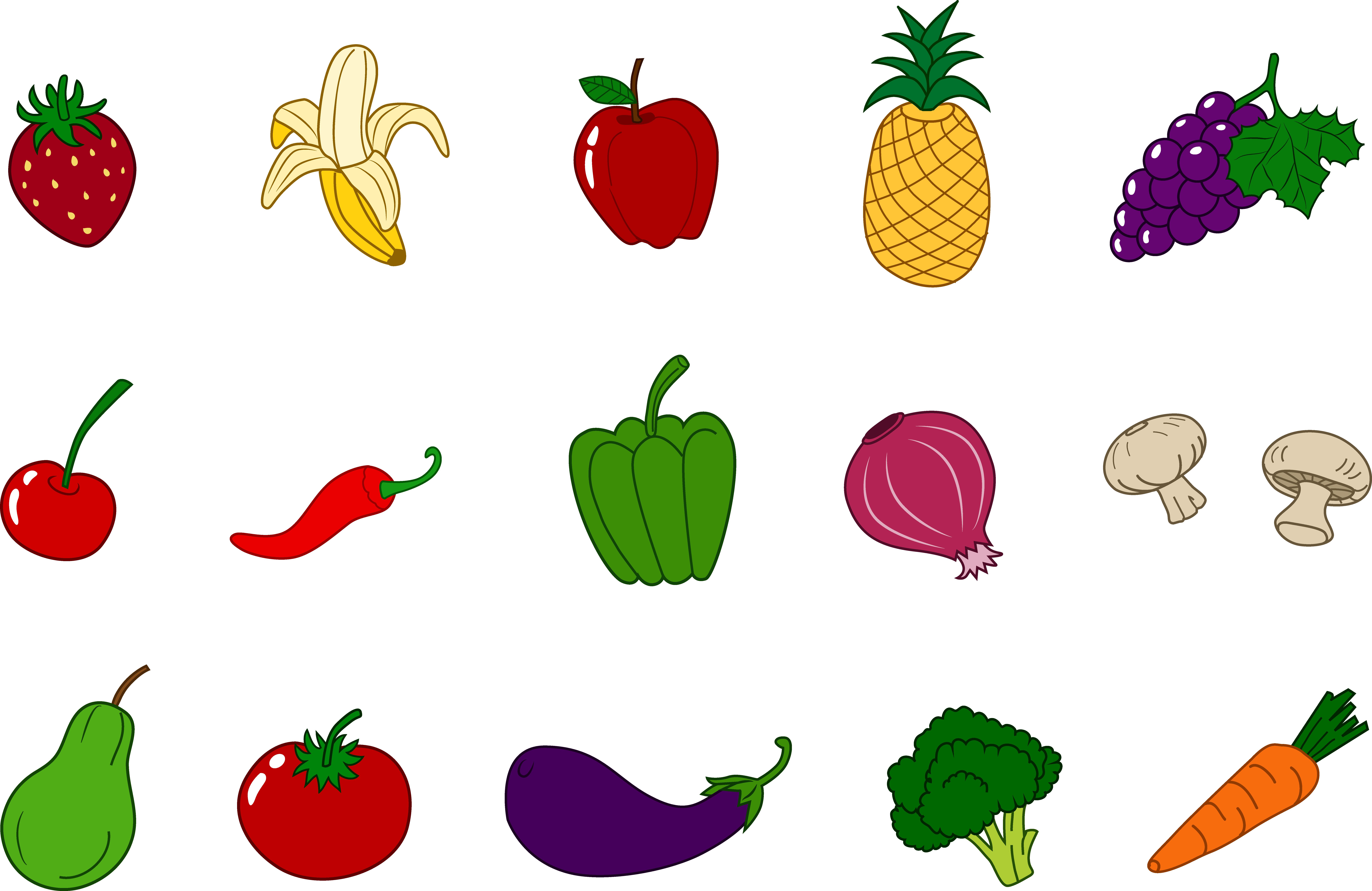 Fruits And Vegetables Clipart U0026 Frui-Fruits And Vegetables Clipart u0026 Fruits And Vegetables Clip Art Images -  ClipartALL clipartall.com-8