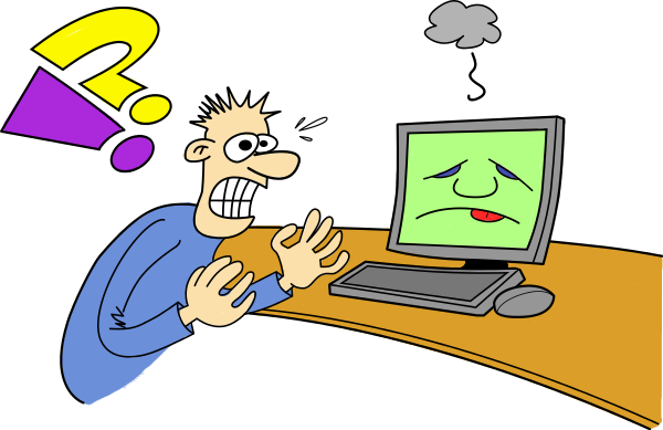 frustration clipart