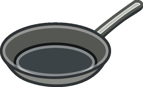 Frying Pan Clip Art At Clker Com Vector Clip Art Online Royalty
