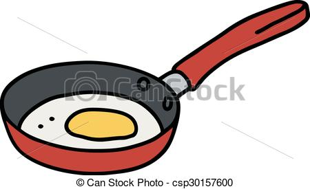 Egg in pan - csp30157600