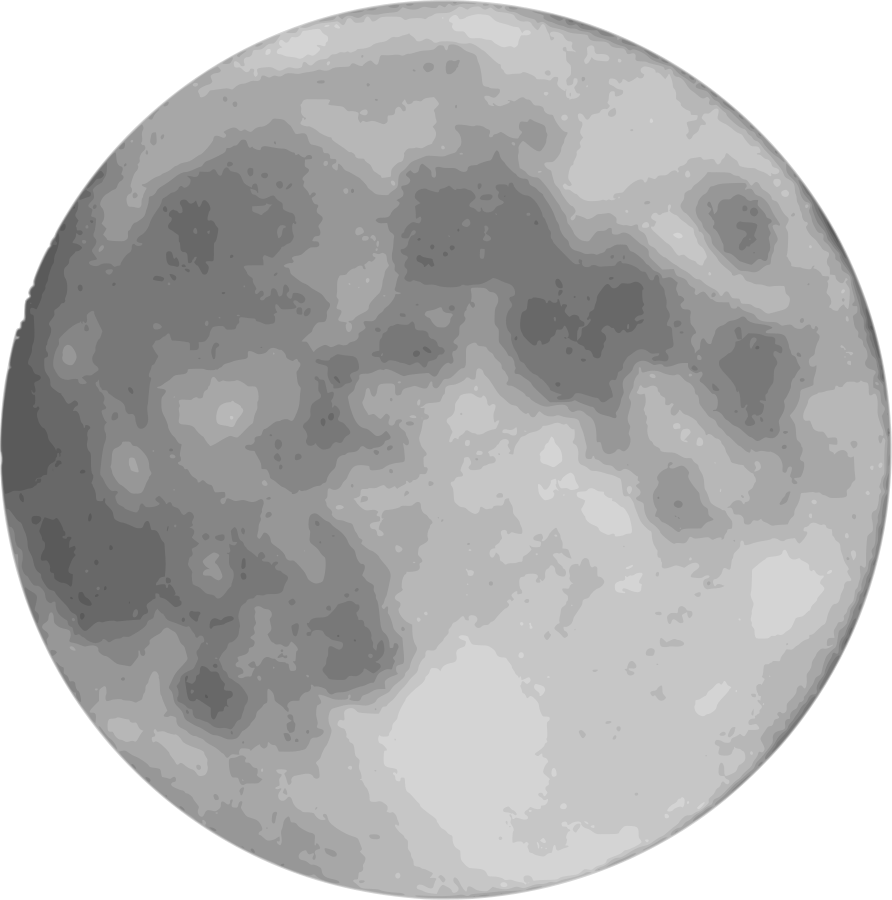 Full Moon Clipart Vector Clip .-Full Moon Clipart Vector Clip .-2