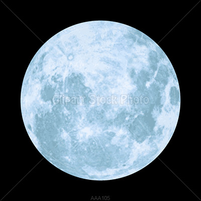 Full Moon Picture Royalty Free Blue Moon Clipart Stock Photo
