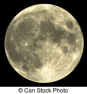 ... Full Moon - The Full Moon with great detail - very rare