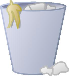 Full Trash Can Clip Art At Clker Com Vec-Full Trash Can Clip Art At Clker Com Vector Clip Art Online Royalty-4