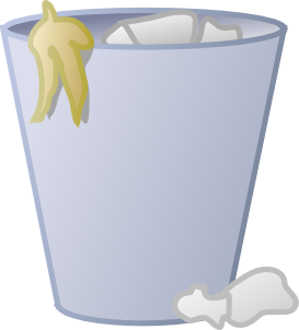 Full Trash Can Clip Art At Clker Com Vec-Full Trash Can Clip Art At Clker Com Vector Clip Art Online Royalty-6