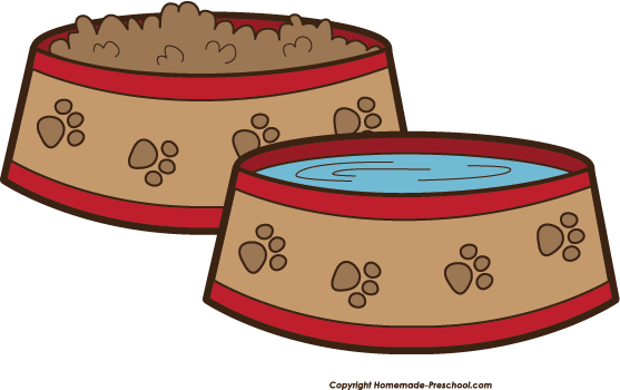 Fun And Free Clipart - Dog Bowl Clipart