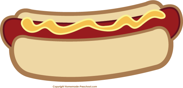 Free Hot Dog Sandwich Clip Ar