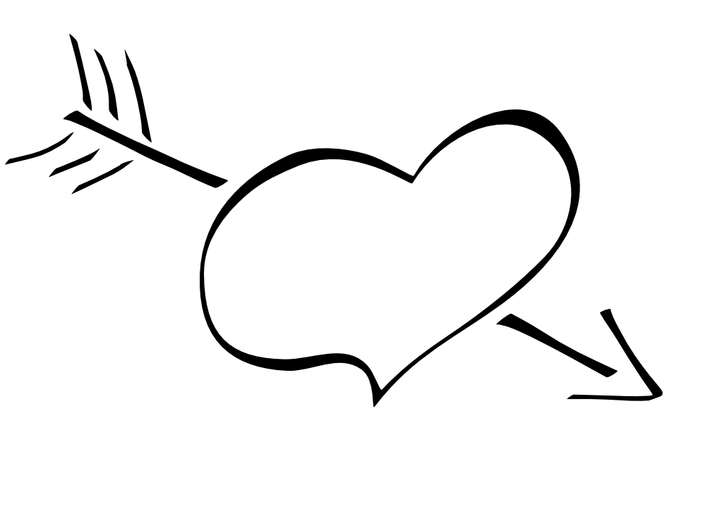 Fun Black And White Love Heart Valentines Day Clipart. 2016/03/15 Happy Valentine u0026middot; 2014 Clipartpanda Com About Terms