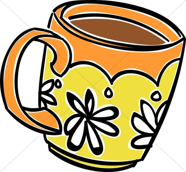 Fun Daisy Coffee Mug-Fun Daisy Coffee Mug-7