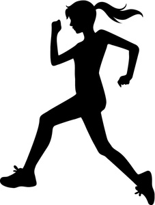 Fun Run Clipart. Running