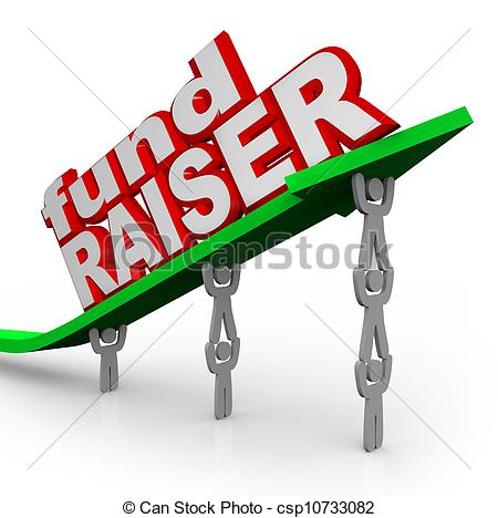 Fund Raising Clipart