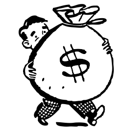 Fundraising Clip Art Black and White-Fundraising Clip Art Black and White-13