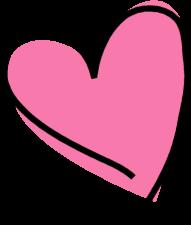 Funky Pink heart