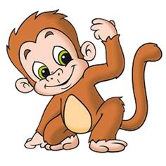 Funny Baby Monkey Pictures - Monkeys Car-Funny Baby Monkey Pictures - Monkeys Cartoon Clip Art-17
