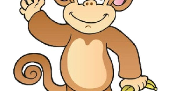 Funny Baby Monkey Pictures - Monkeys Cartoon Clip Art
