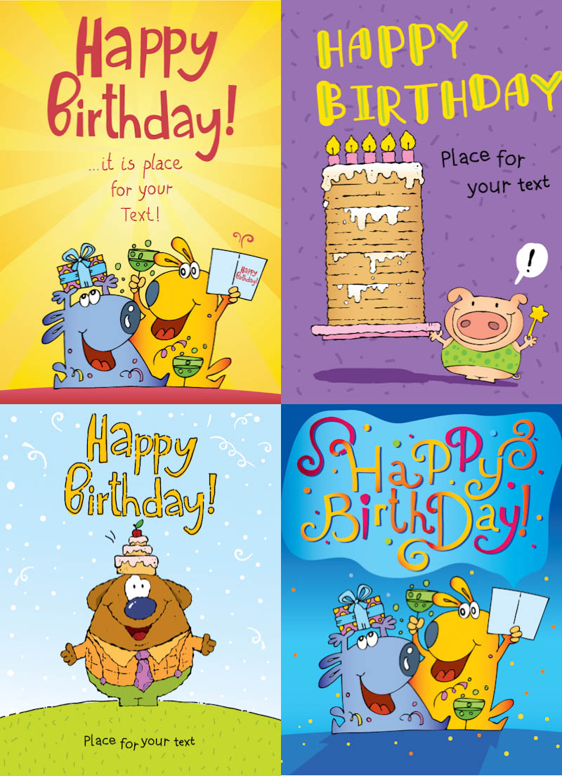 funny birthday clipart . Funny happy birthday cards .