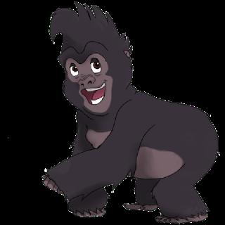 Funny Black Gorilla Clip Art ..