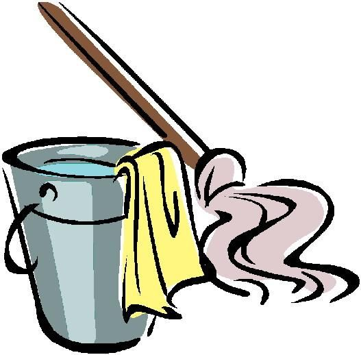 Funny Cleaning Clipart - Clipart Kid