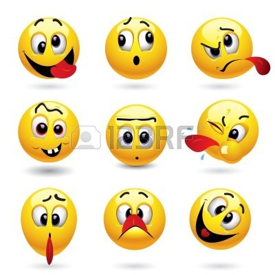 Funny Faces Clip Art