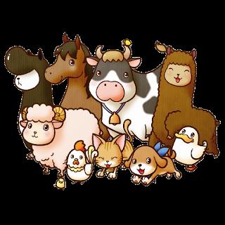 Funny Farm Animals Cartoon Clip Art Images