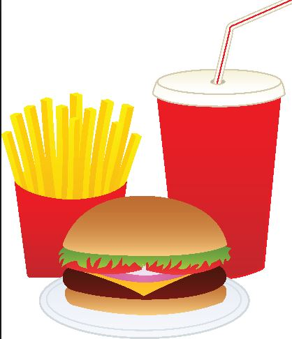 Funny Fast Food Clipart
