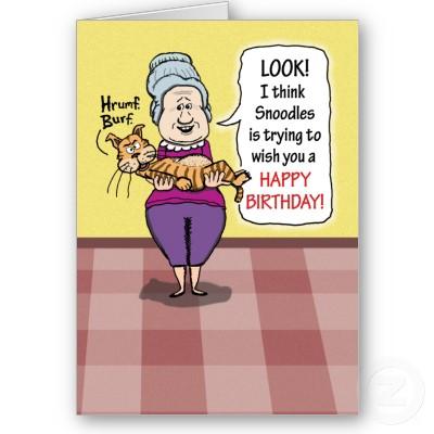 Funny Birthday Cartoon