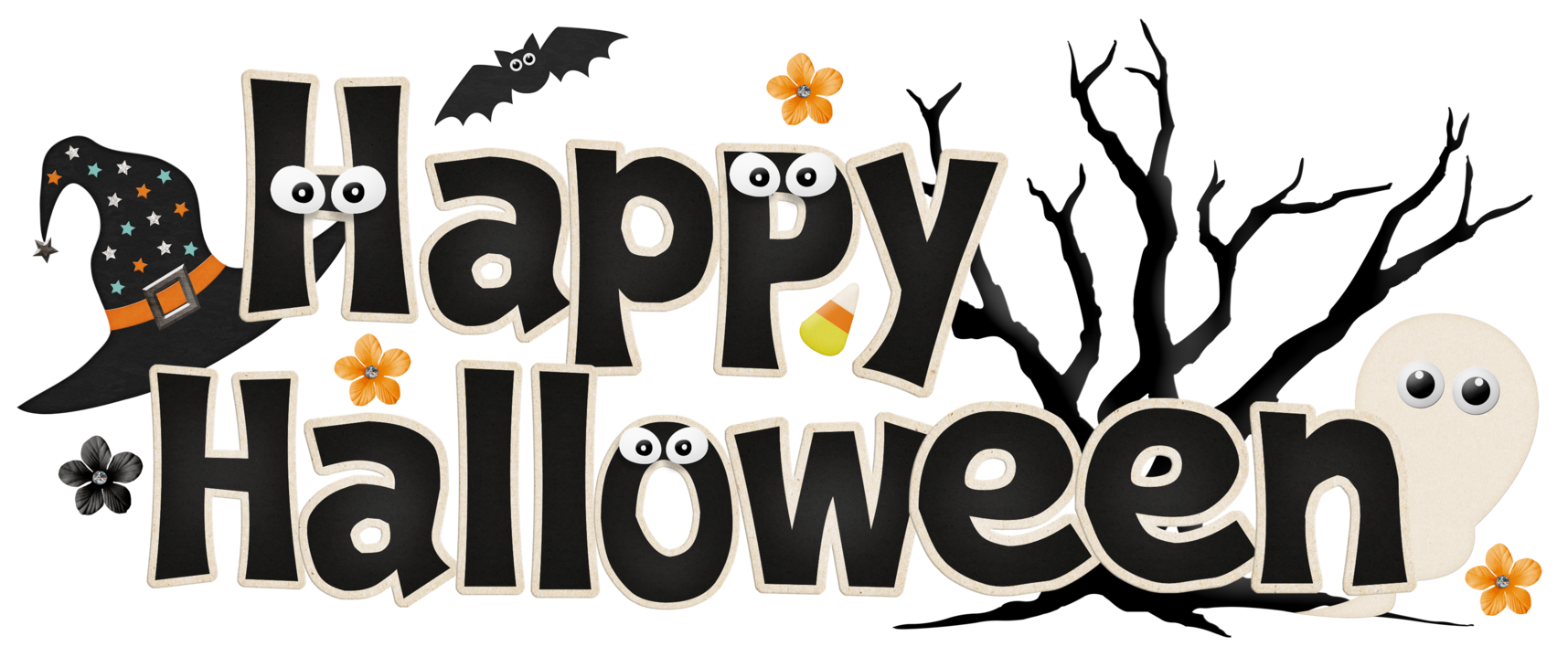 Funny Happy Halloween Clip Art Clipart Free Clipart