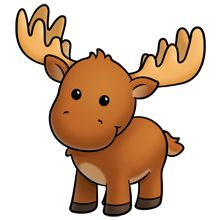 Funny Moose Clipart-Funny moose clipart-17