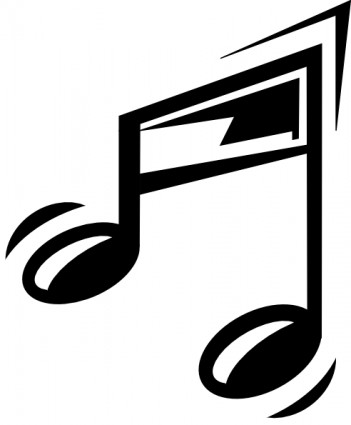 Funny Music Note Free Vector In Open Office Drawing
