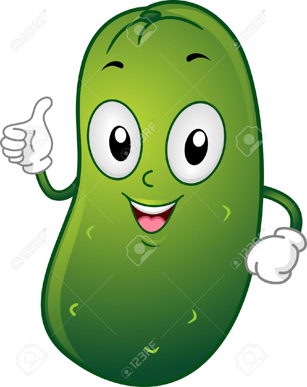 Funny Pickle Clipart #1