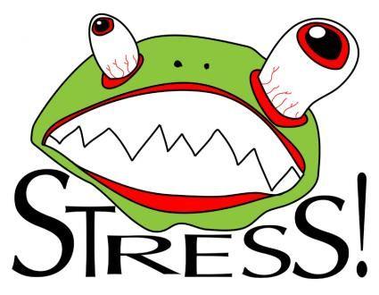 Funny Stress Clip Art Free