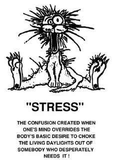 Funny Stressed Out Clipart #1