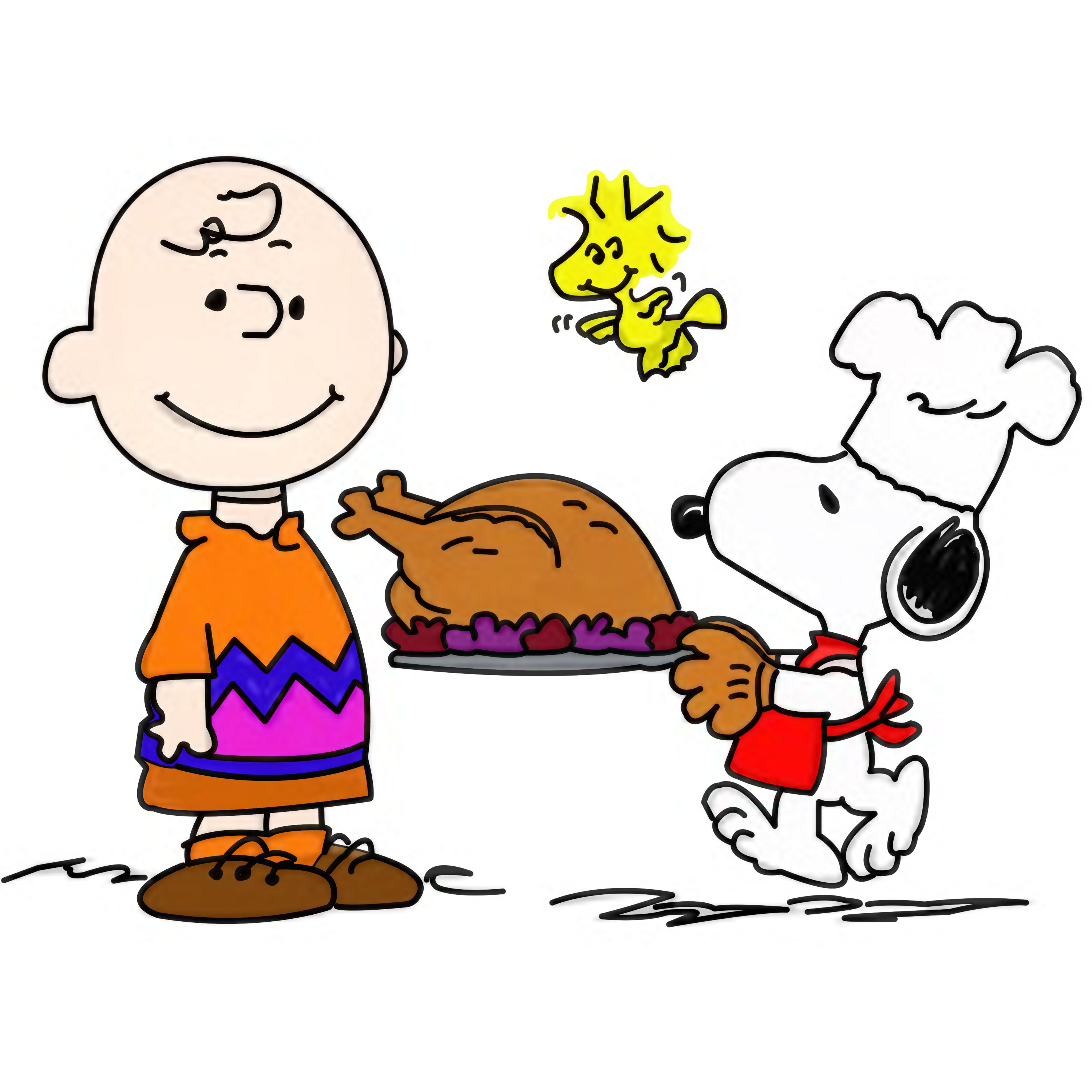 Funny Thanks Giving Jokes Kid - Snoopy Thanksgiving Clip Art